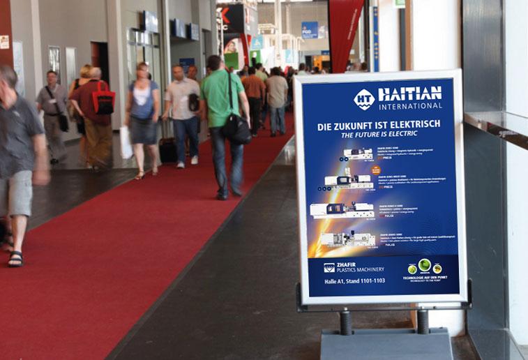 Fakuma 2018: Haitian International präsentiert elektrische Lösungen