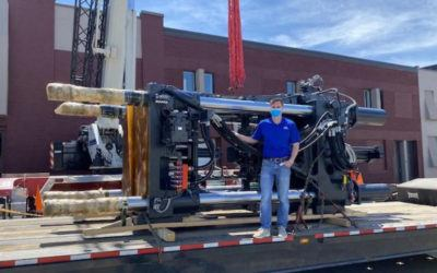 Eck Plastic Arts Installs 1,012-Ton Injection Molding Machine